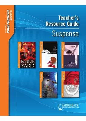 Suspense Teacher's Guide