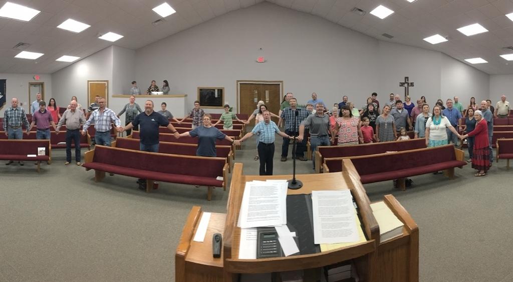 Coleman Baptist Church - Photos - Inside Coleman Baptist