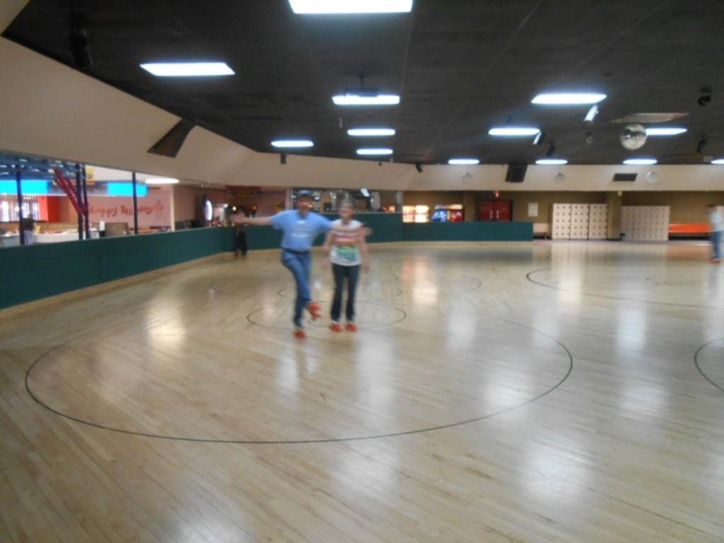 Church Family Roller Skating 2014