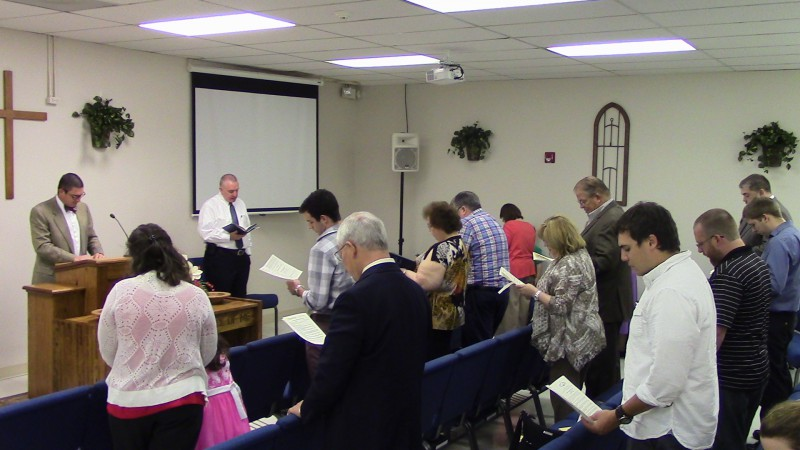 Sunday Morning Worship Service at Trinity Reformed Baptist Church in Memphis, TN