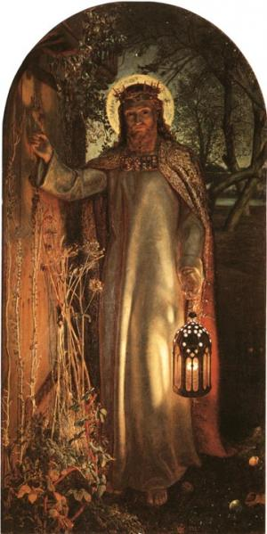 Light of the World Painting by William Holman Hunt