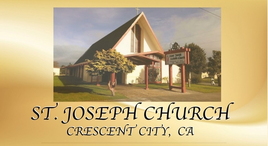 St Joseph Catholic Church Crescent City Ca Crescent City California