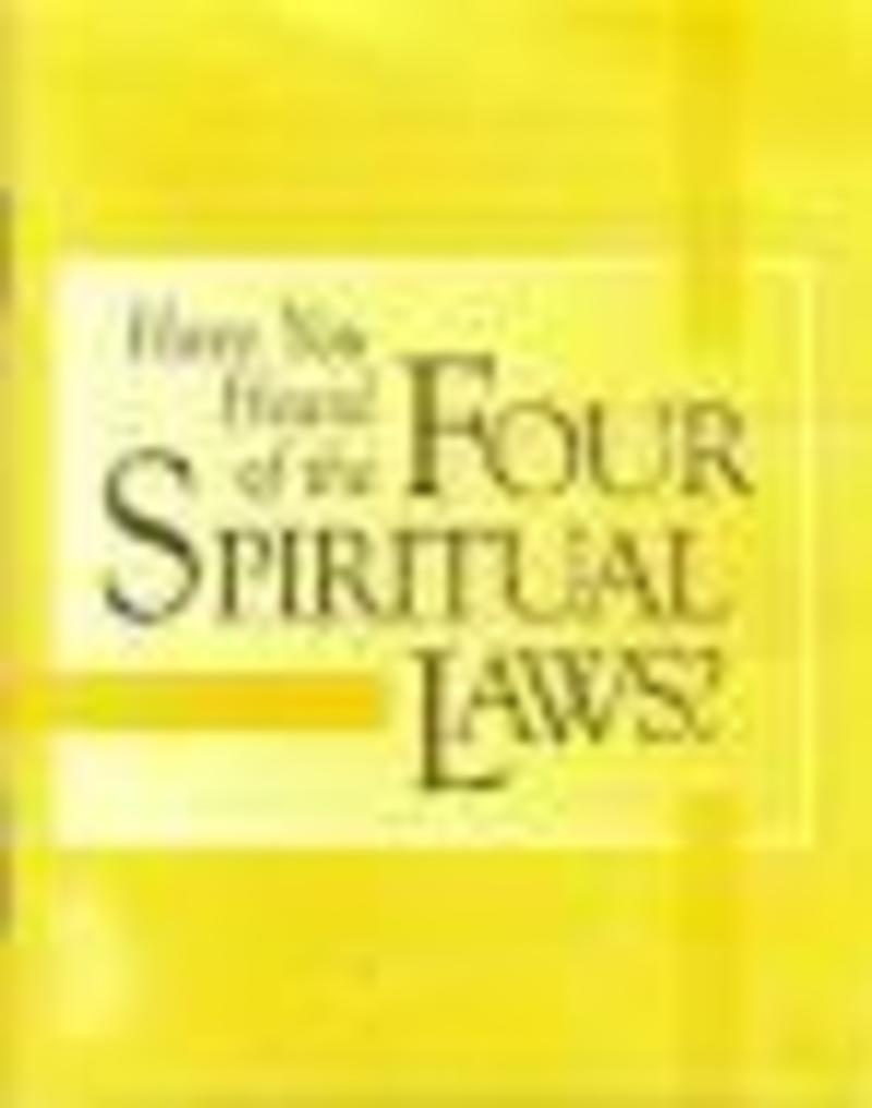photo regarding Four Spiritual Laws Printable named ABC Memphis - Achieving The Planet - 4 Non secular Regulations