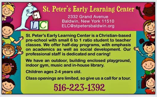 St  Peter's Evangelical Lutheran Church - Pre-K Program