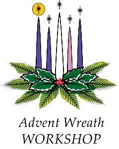 Advent wreath WORKSHOP