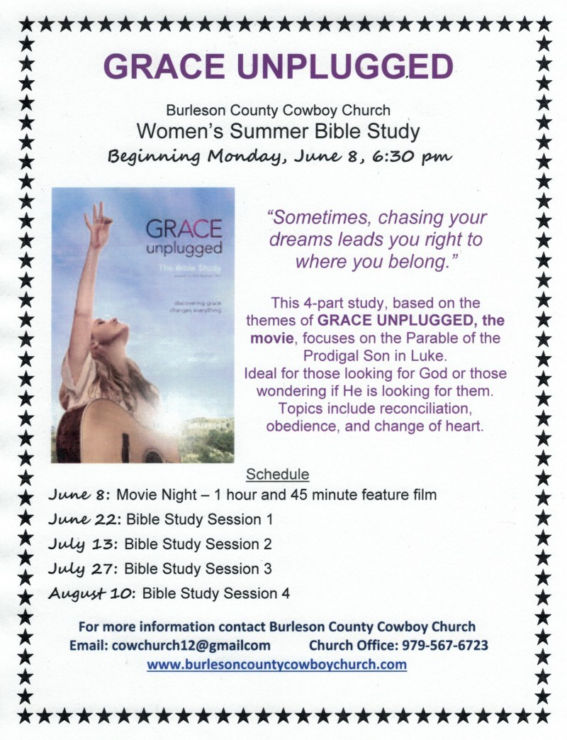 Burleson County Cowboy Church - Teams - Women's Bible Study BCCC