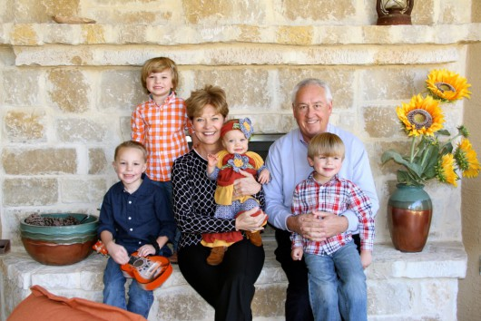 Pastor Mark Scott and Grandchildren