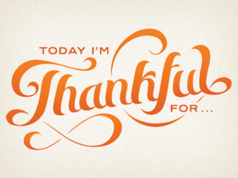 why im thankful
