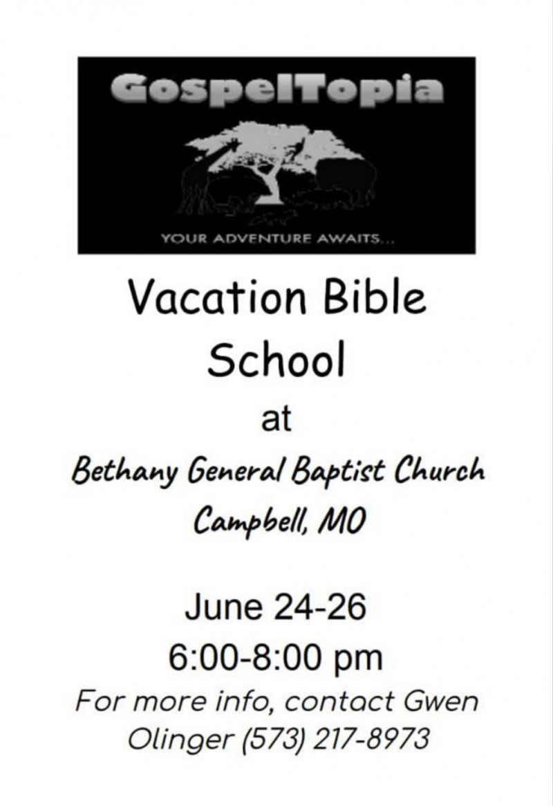 Bethany General Baptist Church - Campbell Missouri