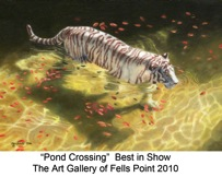 Pond Crossing titled