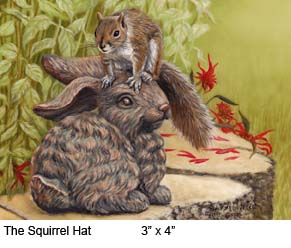 The Squirrel Hat c