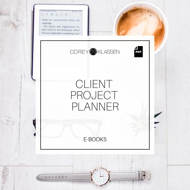 Client Project Planner