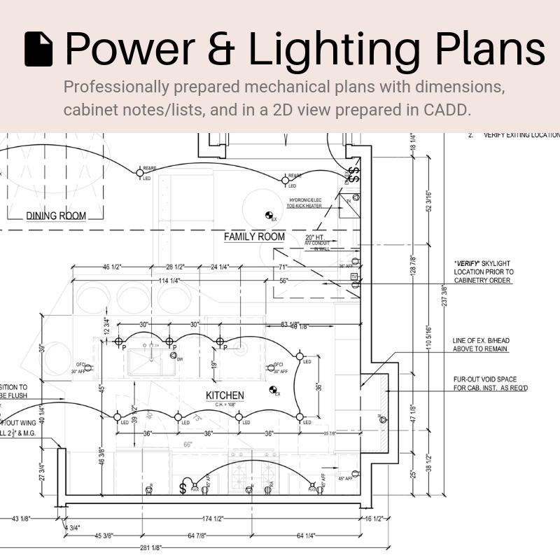 Power & Lighting Plan