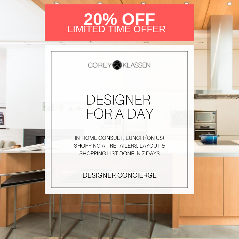 Designer For A Day Promotion