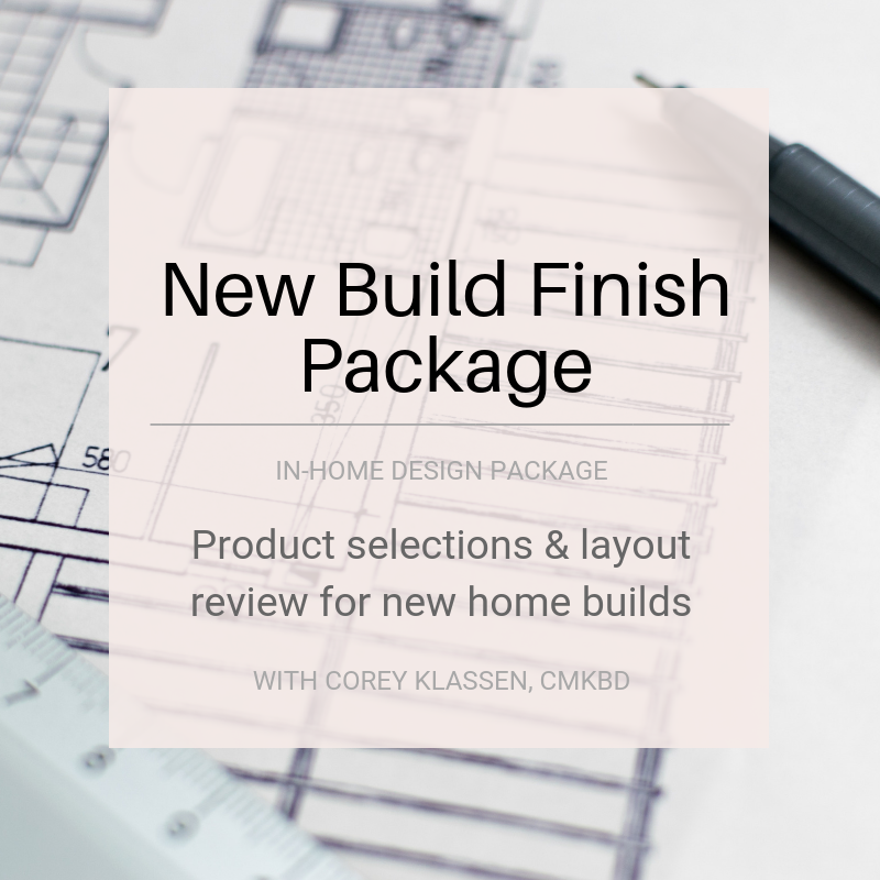 New Build Finish Package