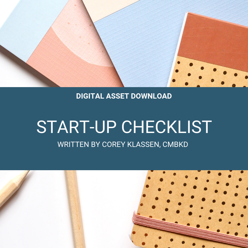Start Up Checklist
