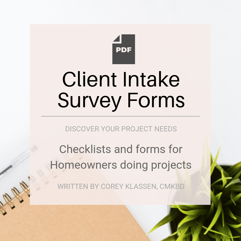 Client Intake Survey Forms