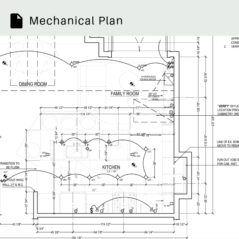 Mechanical Plan