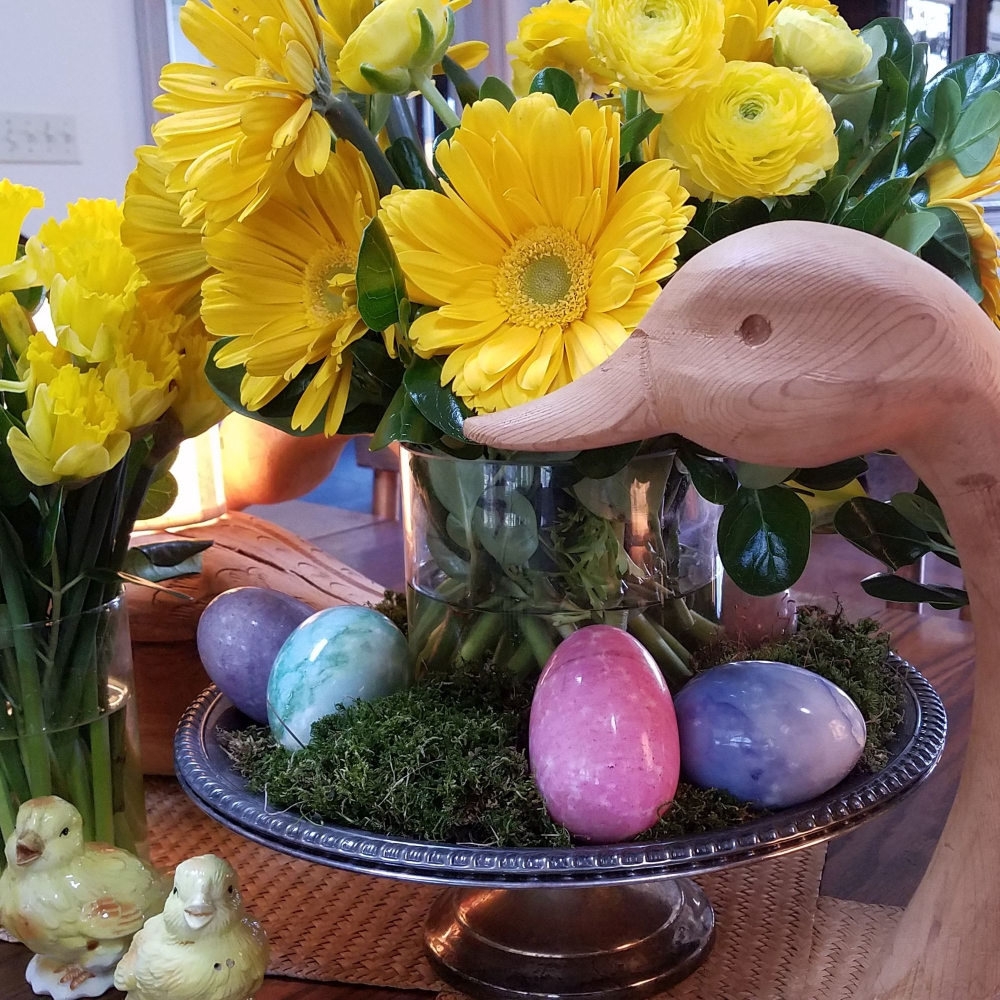 Spring Easter Table Inviting Interior Style