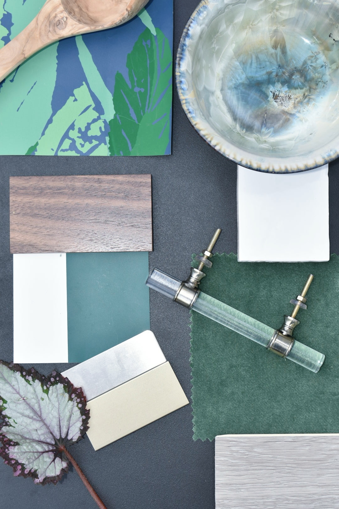 Color and Materials Palette for Kitchen