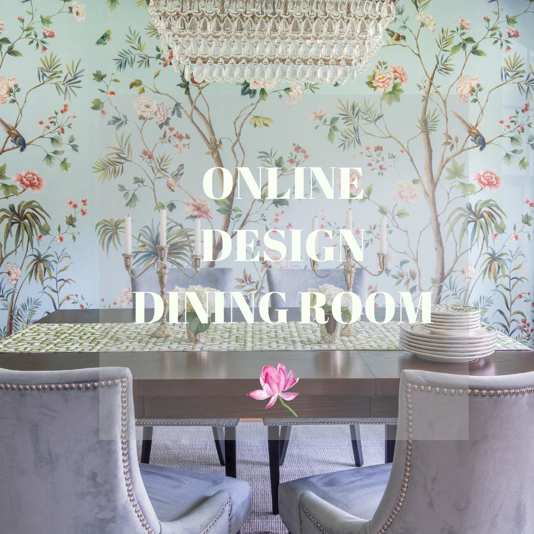 online design dining room