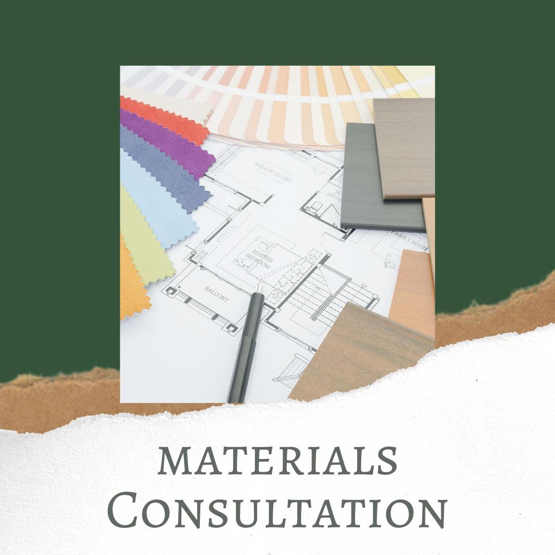 materials consultation
