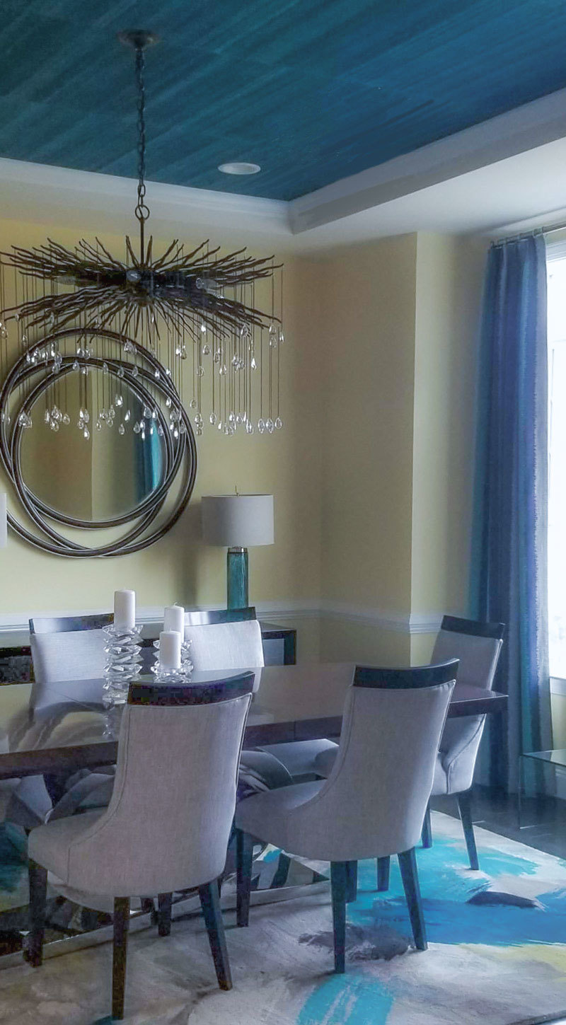 contemporary dining room by lotus + lilac