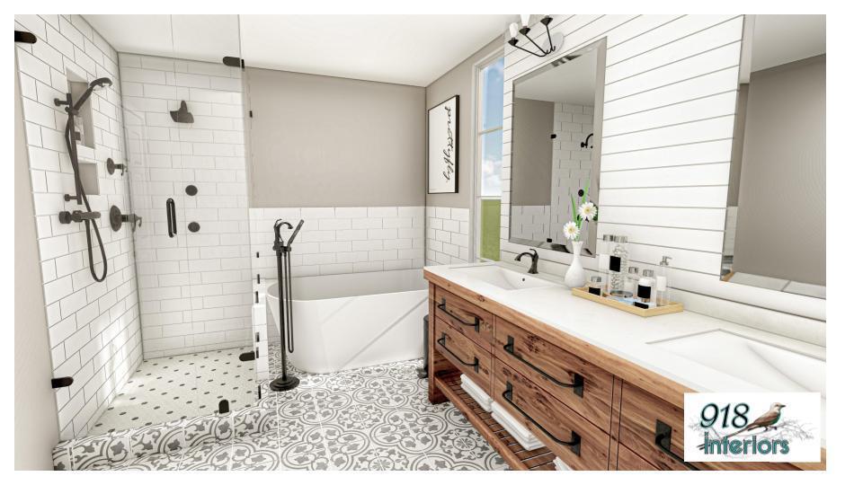 Bathroom Rendering 4