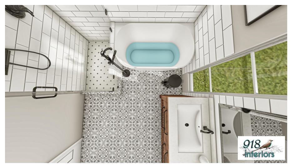 Bathroom Rendering 2
