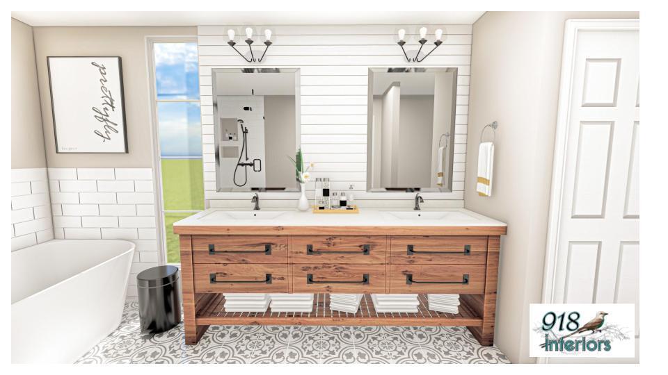Bathroom Rendering 5