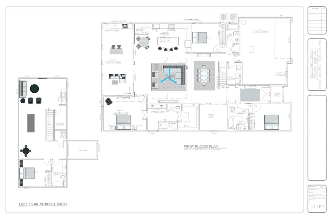 Furniture Plan.