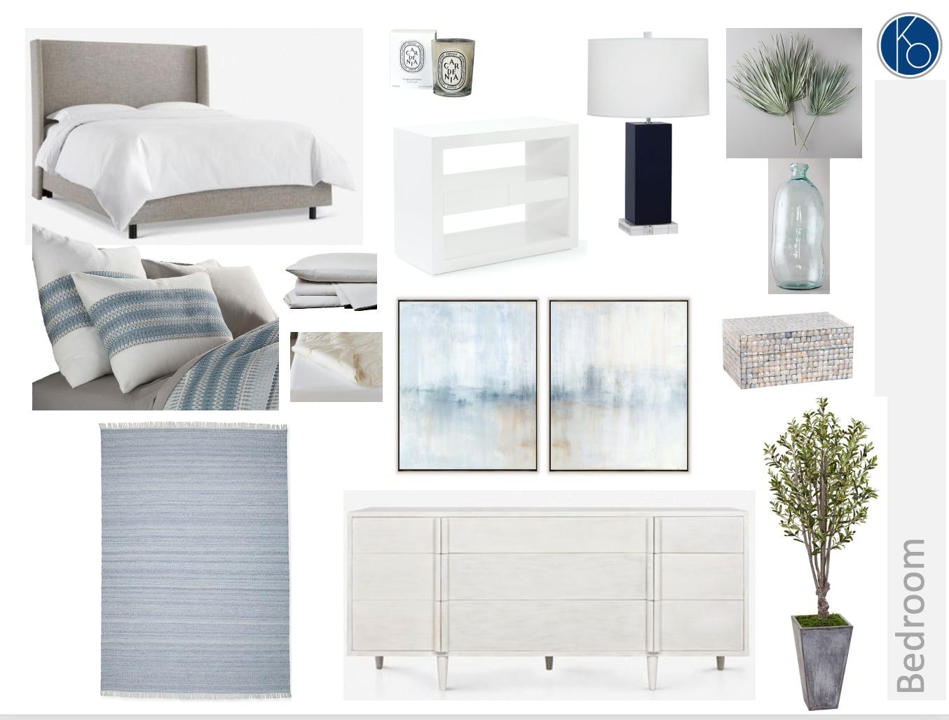 'Clean Cotton' Bedroom