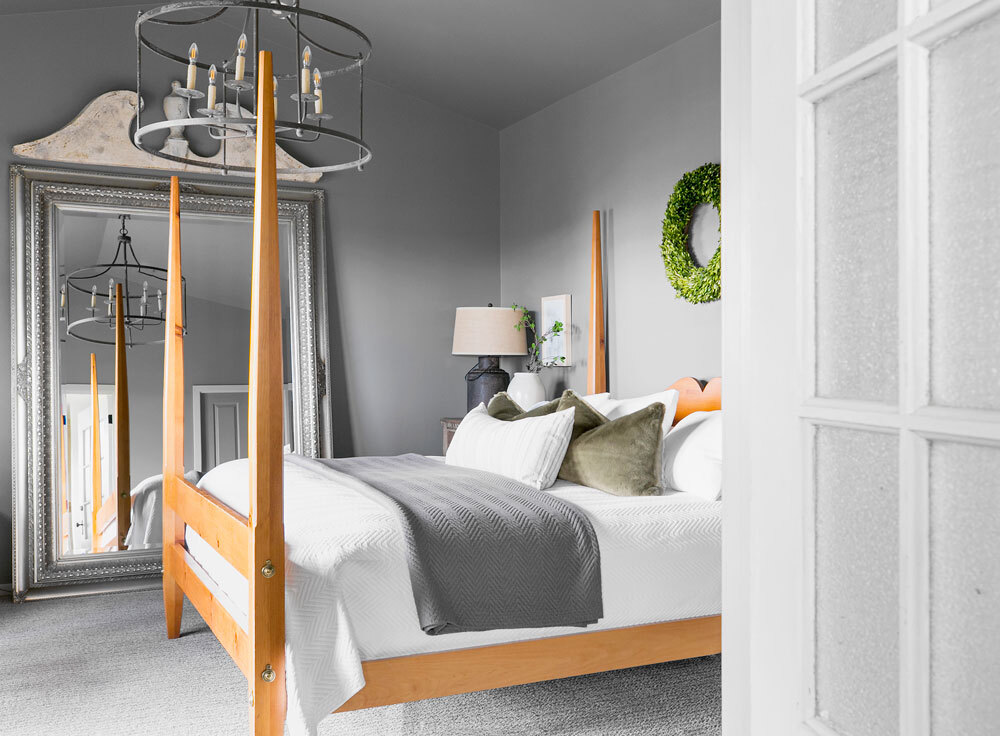 Shop This Traditional Farmhouse Bedroom