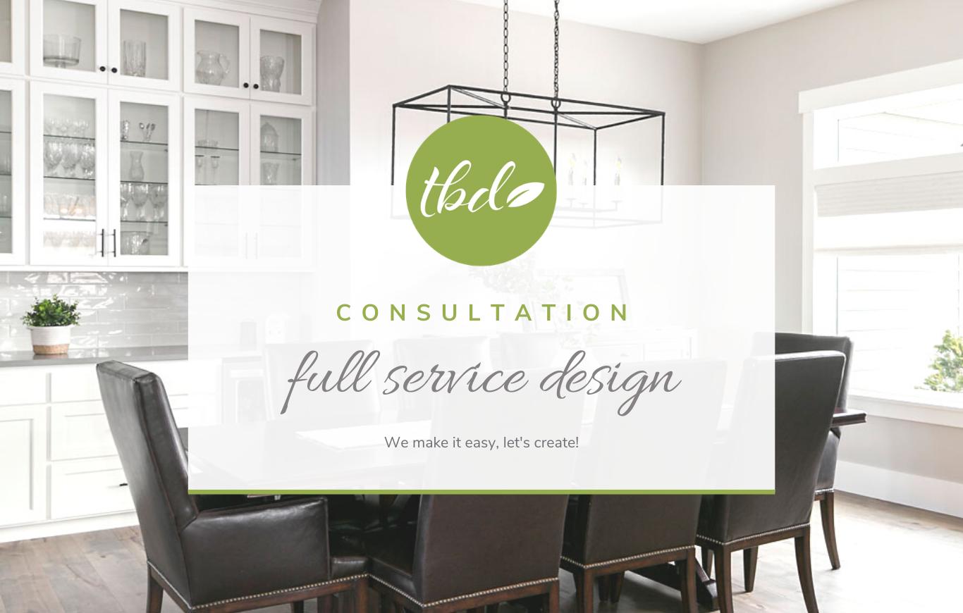 Full Service Design Consultation