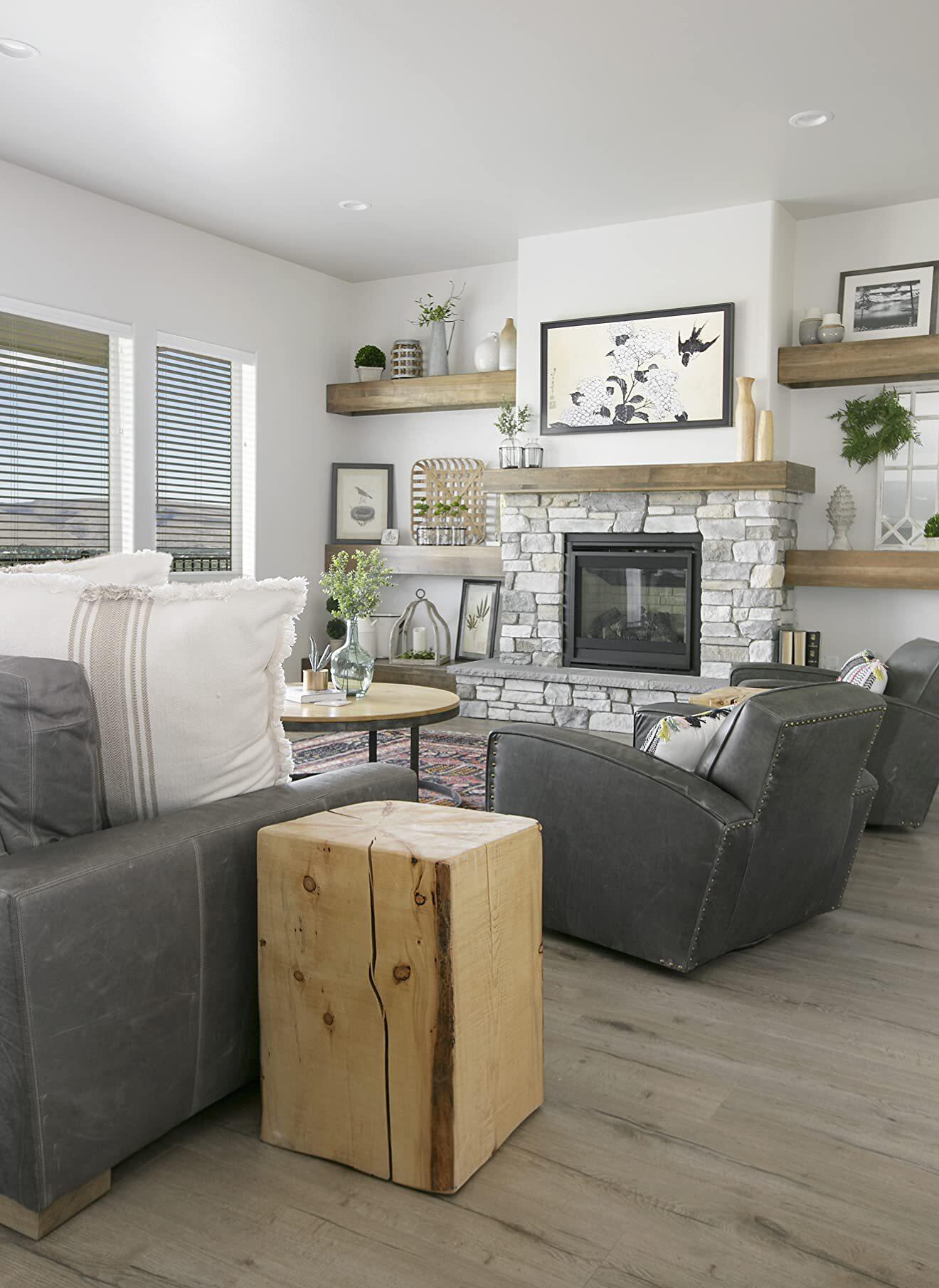 Modern Farmhouse Living Room Rustic Cottage Decor