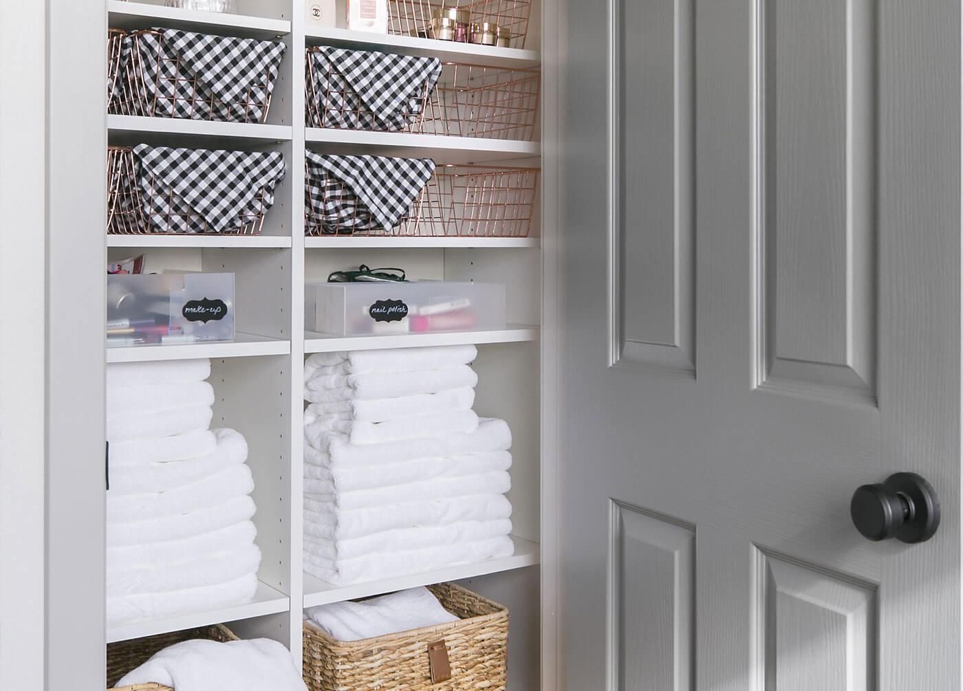 Shop This Linen Closet
