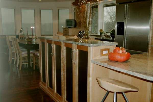 Transitional Family Kitchen, Upstate NY