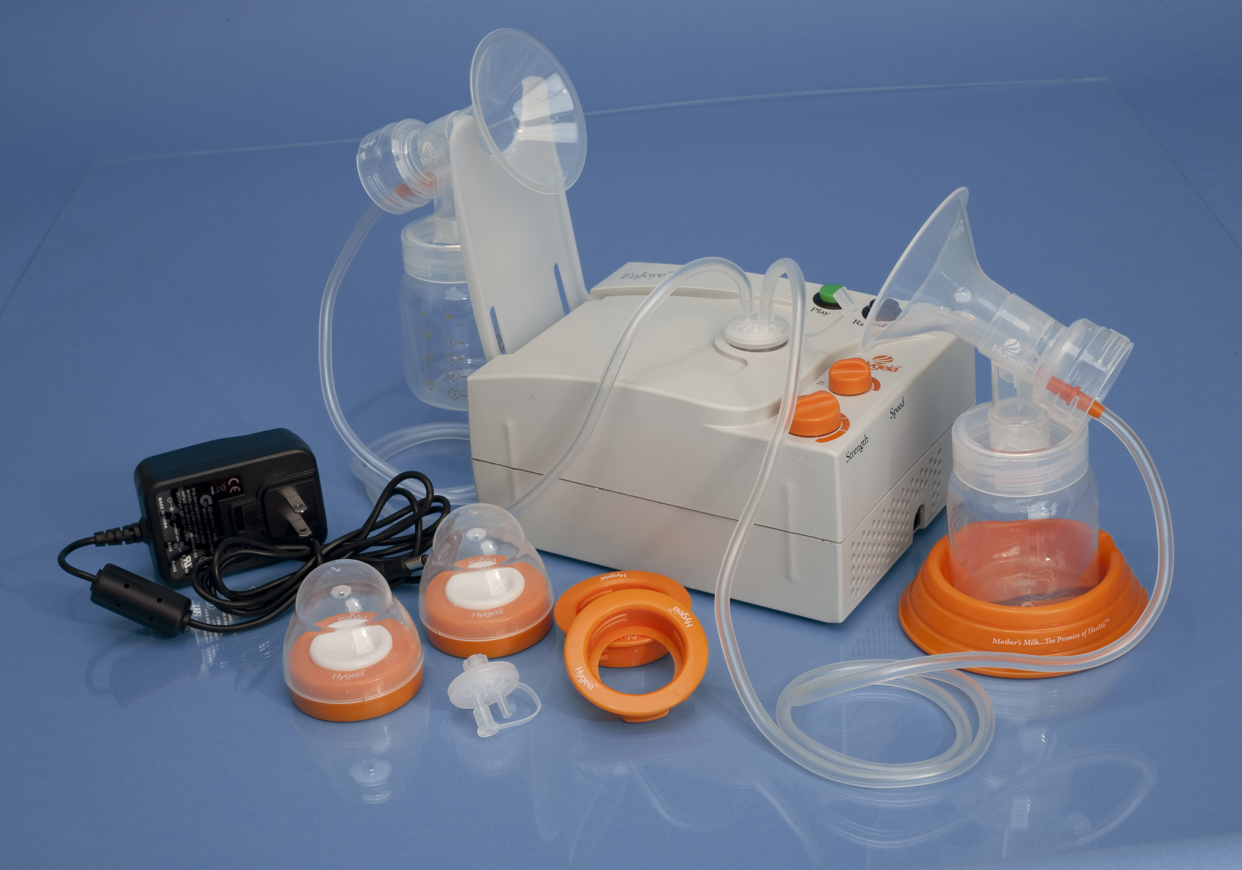 Hygeia™ EnJoye Breast Pump with Deluxe Tote