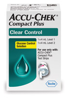 Accu-Chek® Compact Plus Clear Control Solution – Hi/Low