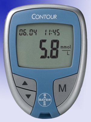 Ascensia Contour Blood Glucose Meter