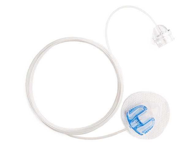 MiniMed mio® Infusion Set – 6mm, 23-inch – Blue