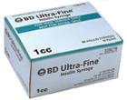 BD Ultra-Fine Syringe – 1cc – 30g – 90ct.