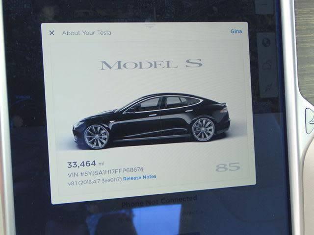 2015 Tesla Model S 5YJSA1H17FFP68674
