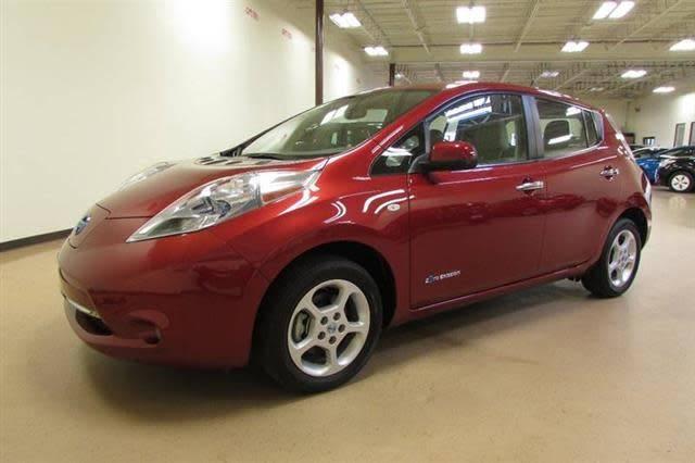 2012 Nissan LEAF JN1AZ0CP6CT016258