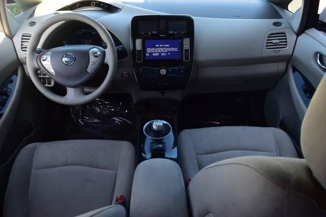 2012 Nissan LEAF JN1AZ0CP0CT026722