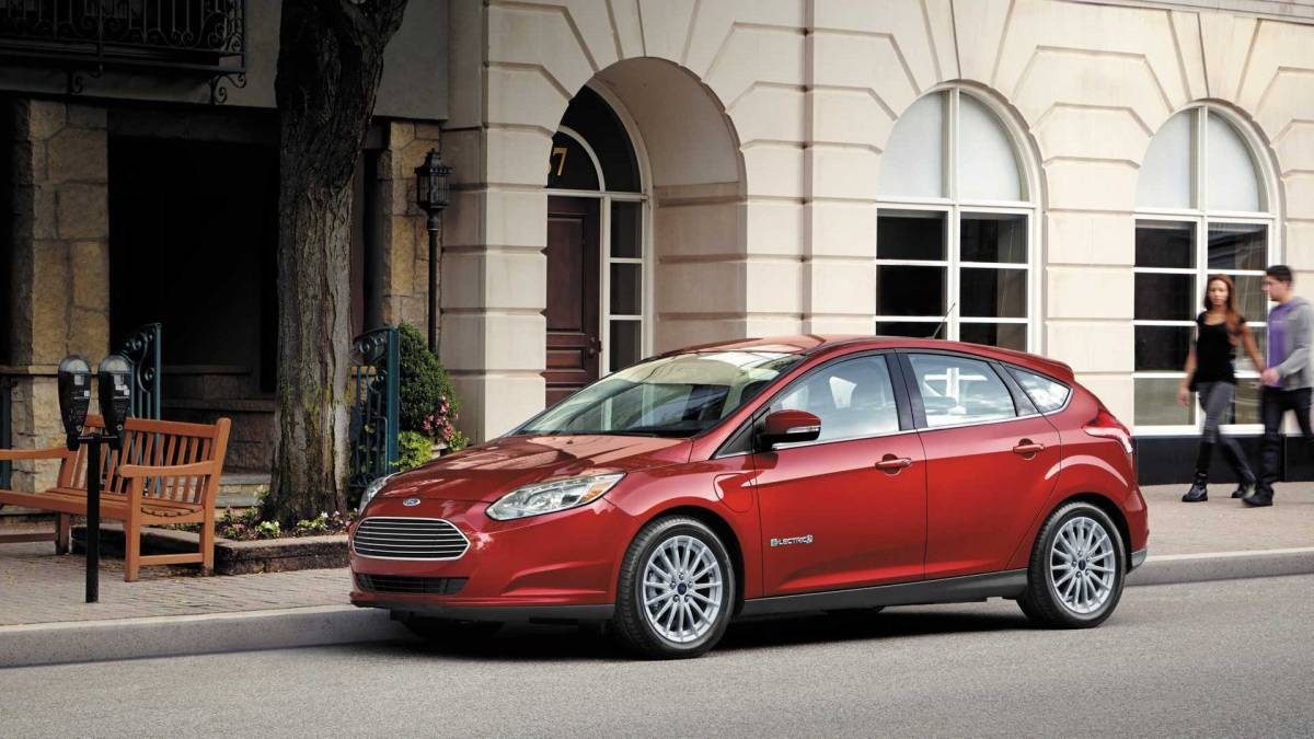 2. Ford Focus Electric