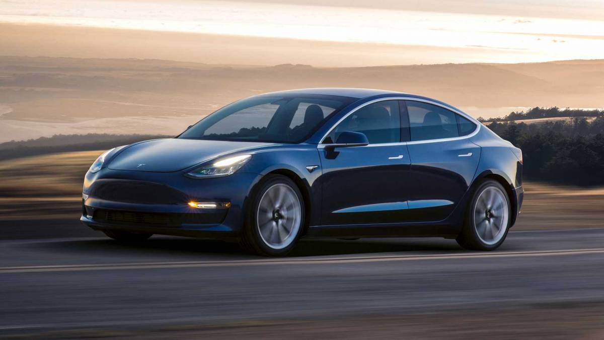 Sales are trending upward, based largely on the runaway success of Tesla's Model 3.
