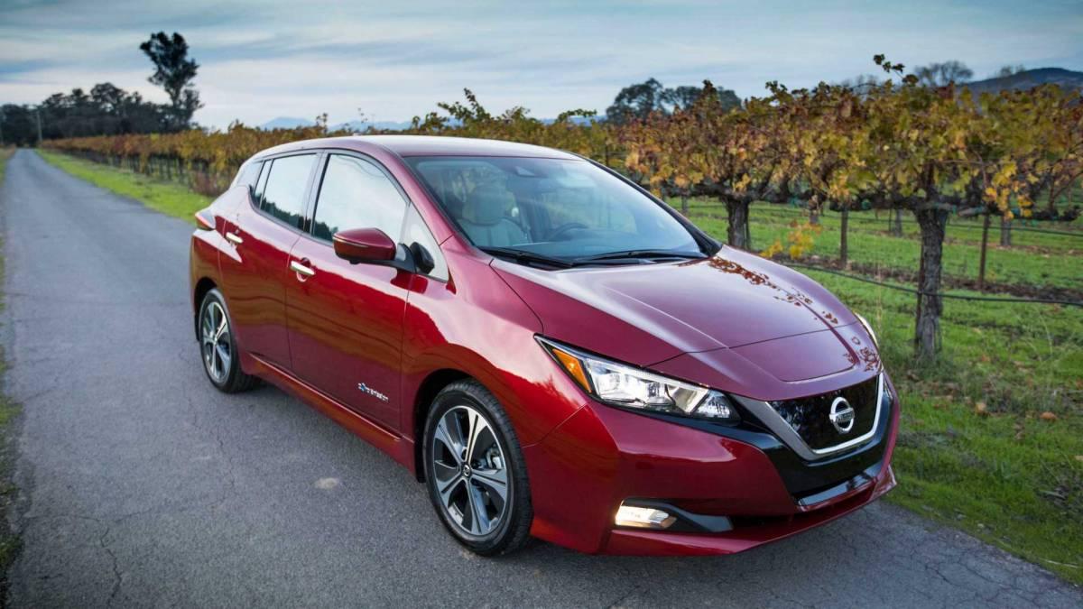 5. Nissan Leaf: 14,715 units sold