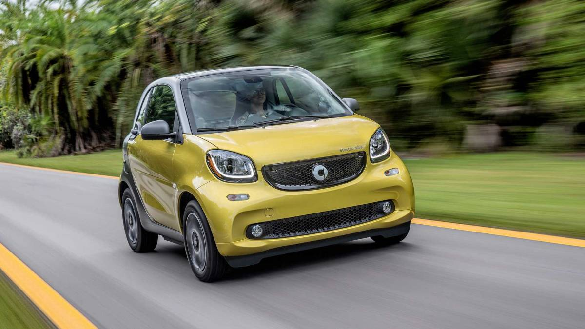11. Smart ForTwo Electric Drive