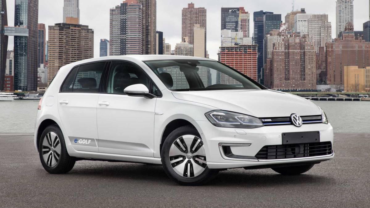 12. Volkswagen eGolf